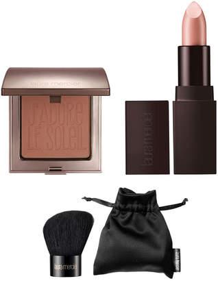 Laura Mercier Blush + Brush Duo + Lip Set