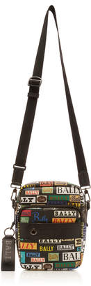 Bally Multicolored Logo Crossbody Bag