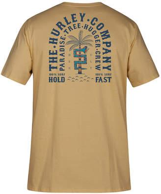 Hurley Mens Paradise Tree Hugger Graphic T-Shirt