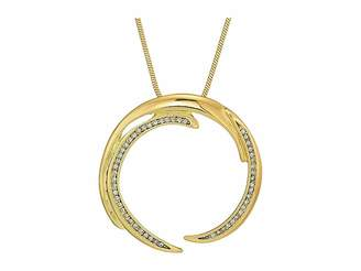 House Of Harlow Wave Pendant Necklace Necklace