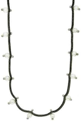 Ten Thousand Things Foxtail Chain with Pearls Necklace