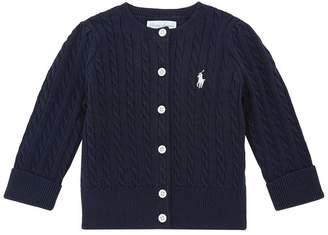 Polo Ralph Lauren Mini Cable Knit Cardigan