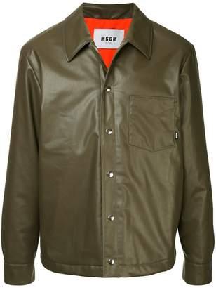 MSGM shirt jacket