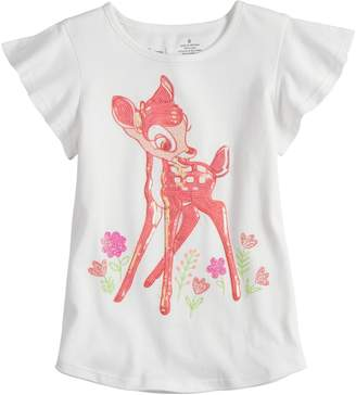 Disneyjumping Beans Disney's Bambi Girls 4-7 Embellished Tee by Jumping Beans