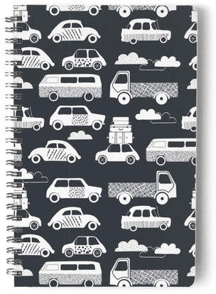Traffic Jam Notes Self-Launch Notebook