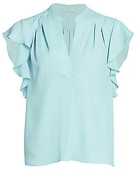 Joie Women's Ashtina Flutter-Sleeve Blouse