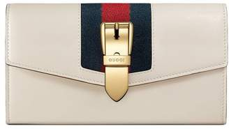 Gucci Sylvie leather continental wallet
