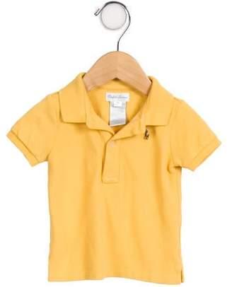 Ralph Lauren Boys' Collared Short Sleeve Shirt