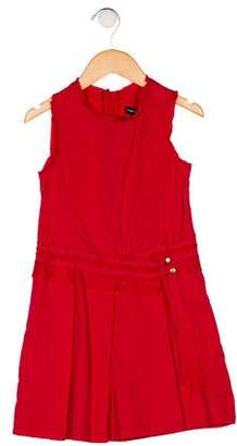 Jean Bourget Girls' A-Line Pleated Dress