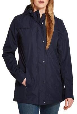 Weatherproof Hooded Rain Slicker