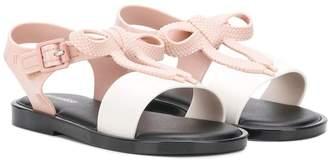 Mini Melissa bow sandals