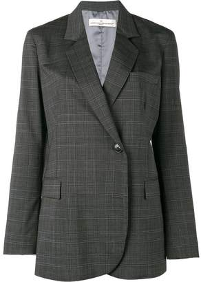Golden Goose check double breasted blazer