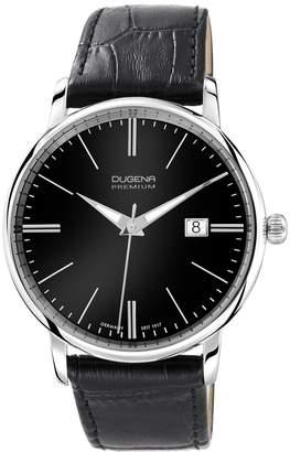 Dugena Premium Men's Quartz Watch Festa 7000180 with Leather Strap