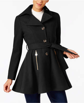 INC International Concepts I.n.c. Skirted Walker Coat
