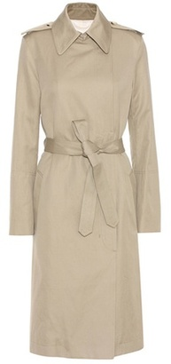 Cotton And Linen Trench Coat