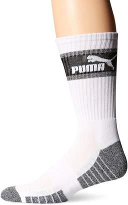 Puma Men's Crew Socks, 3 Pack (10-13, )