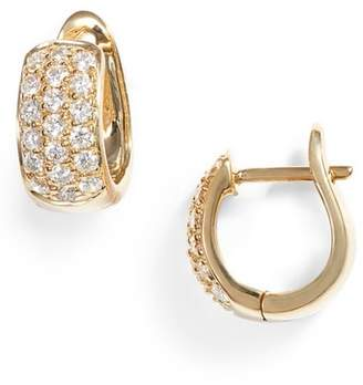 Dana Rebecca Designs Dana Rebecca Mini Diamond Hoop Earrings
