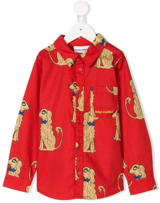 Mini Rodini dog print shirt
