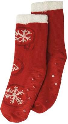 Life is Good Double Snuggle Ornament Socks
