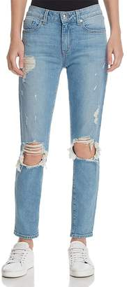 Derek Lam 10 Crosby Devi Mid-Rise Authentic Skinny Jeans in Light Wash