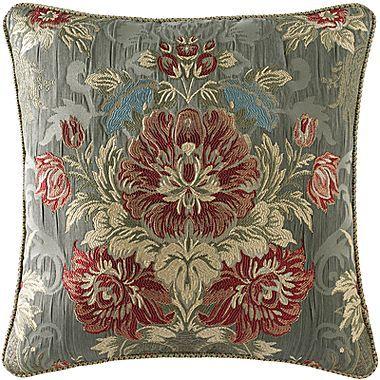"""Croscill Classics® Addison 18"""" Square Decorative Pillow"""