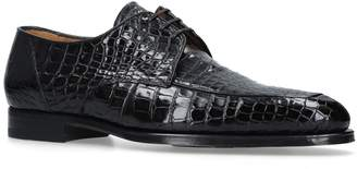 Brotini Alligator Derby Shoes