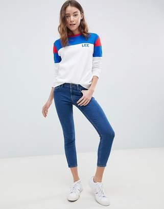 Lee Jeans Scarlett Cropped Skinny Jeans