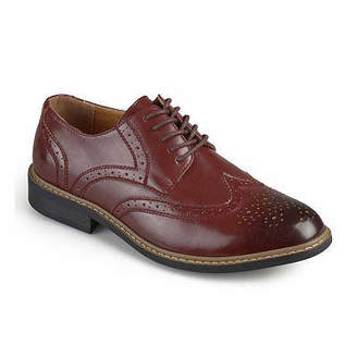 Co VANCE Vance Mens Butch Oxford Shoes Lace-up Round Toe