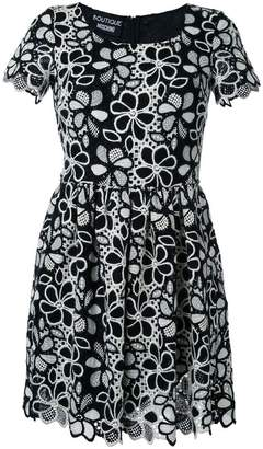 Moschino fit and flare mini dress