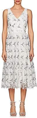 Sophia Kah SOPHIA KAH WOMEN'S LACE A-LINE COCKTAIL DRESS - WHITE SIZE 14 UK