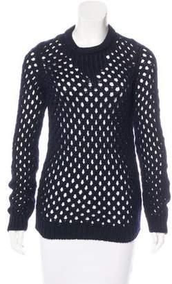 ADAM by Adam Lippes Wool Open Knit Sweater
