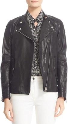 Women's Belstaff Burnett Leather Moto Jacket $1,495 thestylecure.com