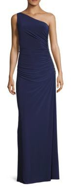 Laundry by Shelli Segal Beaded One Shoulder Gown $275 thestylecure.com