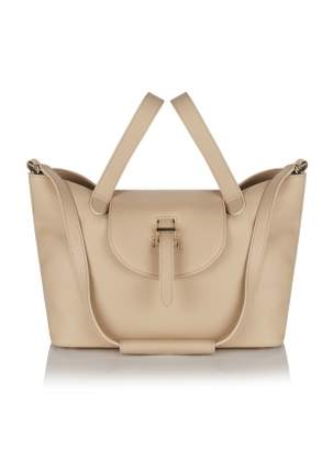 Meli-Melo Thela Medium Tote in New Sand Calf Leather