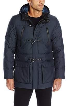 Calvin Klein Men's Padded Toggle Jacket