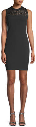 Karl Lagerfeld Lace Sheath Dress