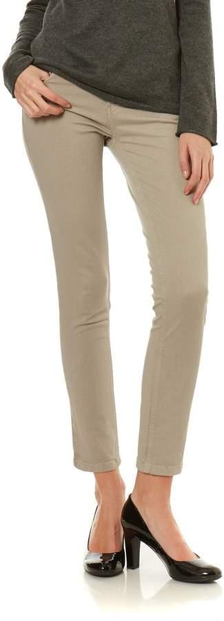 Hose mit geradem Schnitt - jeansblau