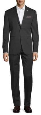 Original Penguin Crosshatch Slim-Fit Suit