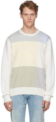 Rag & Bone White Mitch Sweater