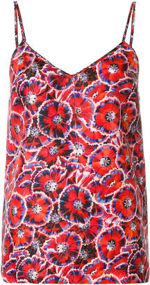 Gucci floral print tank top