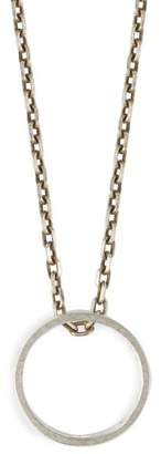 Maison Margiela Three In One Necklace - Mens - Silver