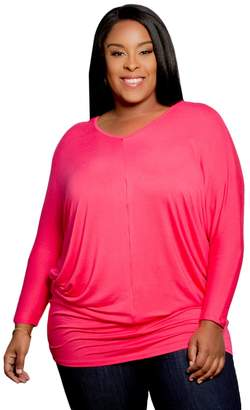 Chantelle Sealed with a Kiss Designs Plus Size Tops Tunic