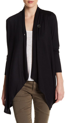 Bobeau One-Button Cardigan $58 thestylecure.com