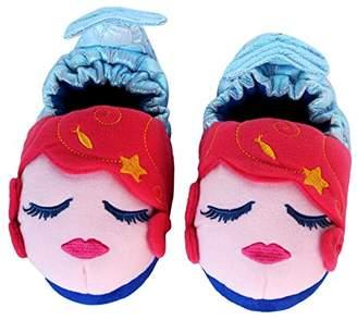 Trimfit Girls Mermaid Slippers Moccasin