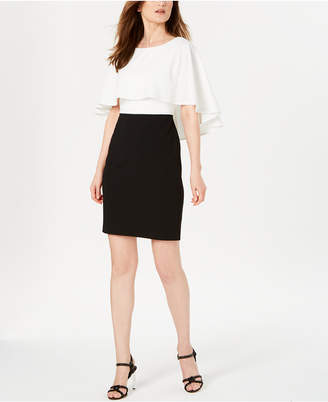 Calvin Klein Colorblocked Popover Dress