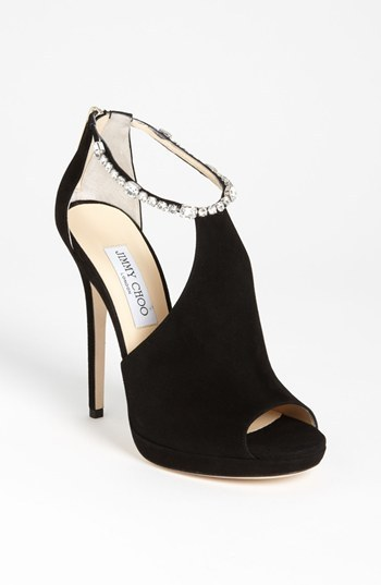 Jimmy Choo Crystral Strap Bootie