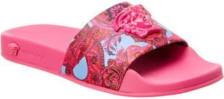 Versace Baroque Medusa Slide Sandal
