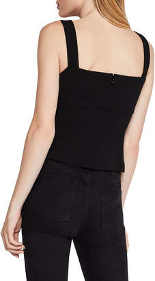 BCBGeneration Bustier Square-Neck Tank Top