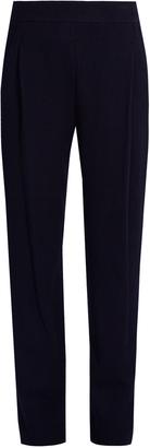 VINCE Slim-leg waffle-knit trousers $325 thestylecure.com