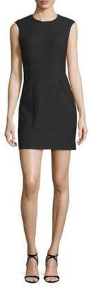 Elizabeth and James McKay Sleeveless Open-Back Mini Dress, Black $365 thestylecure.com